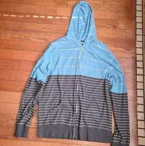 Billabong Hoodie Zip Up Sweater